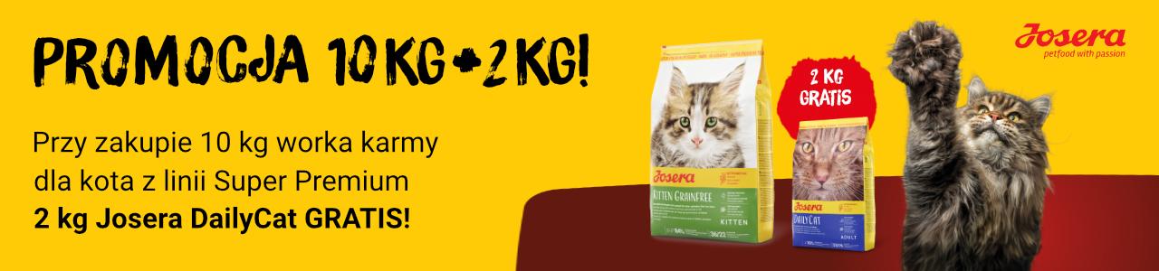 2 kg karmy GRATIS!